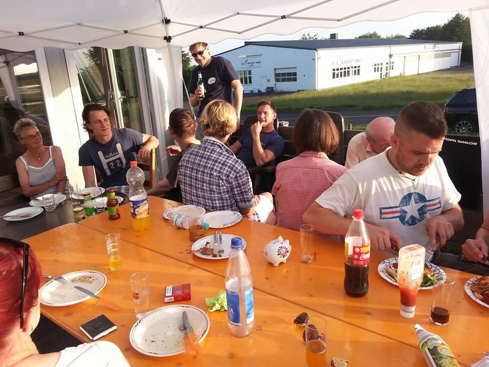 Grillabend am Clubheim: April bis Oktober, jeden ersten Samstag im Monat, Gäste willkommen!
