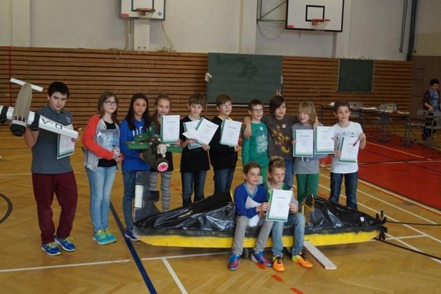 Papierflieger Gewinner 2014