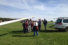 Papierfliegerwettbewerb Gewinnerfliegen