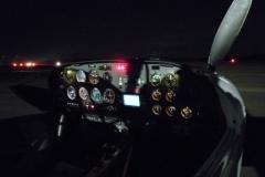 KPSV Cockpit bei Nacht