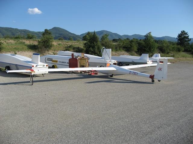 Flugvorbereitung Gap ASW 20